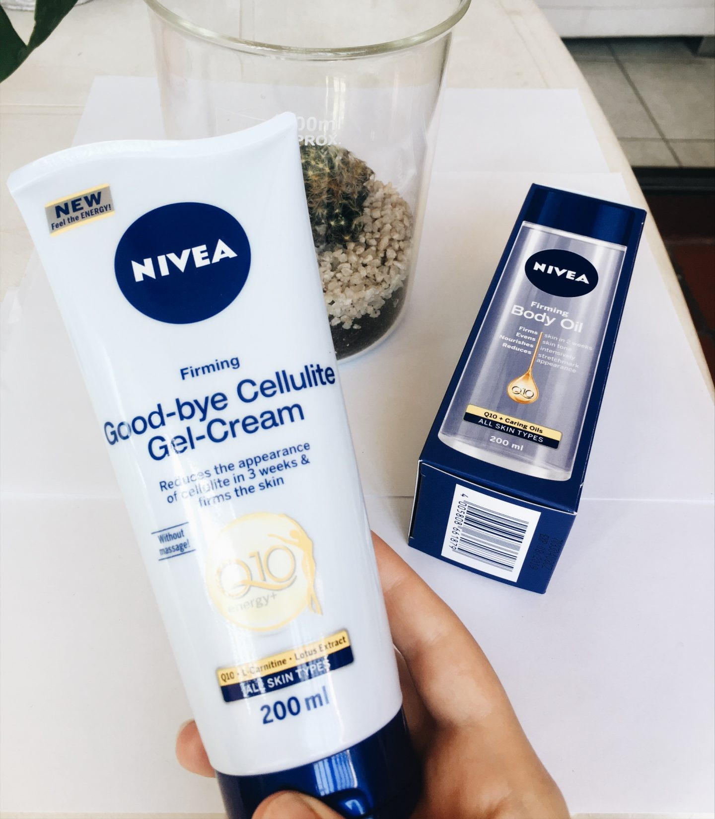 body firming gel from nivea