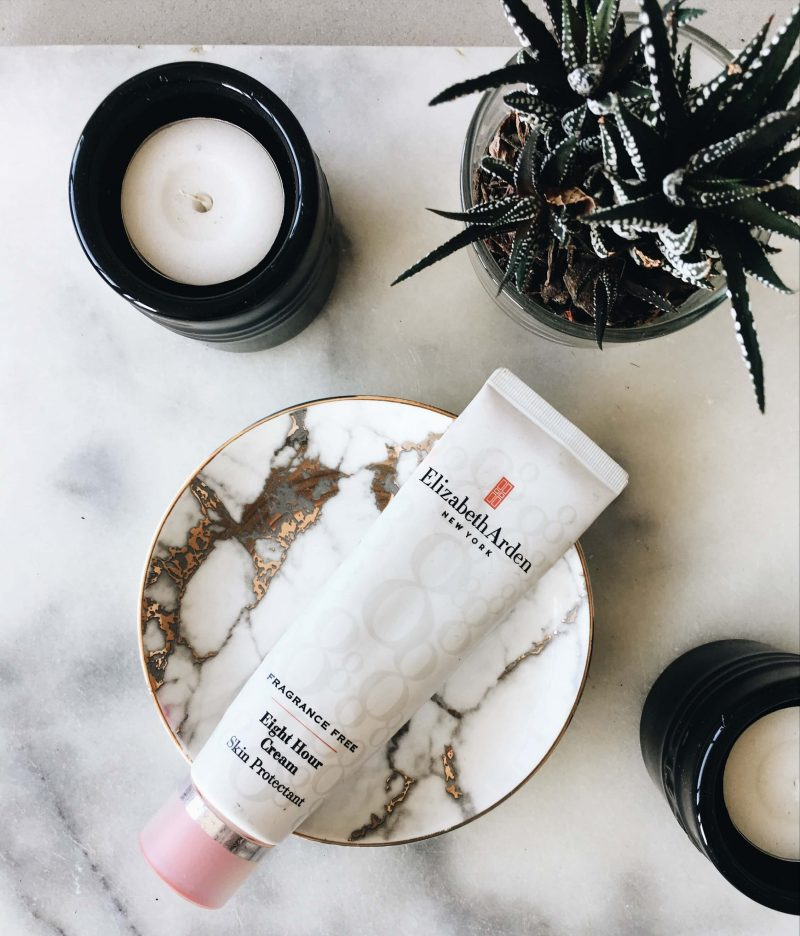 Elizabeth Arden 8 hour cream uses topknotch blog beauty blogger