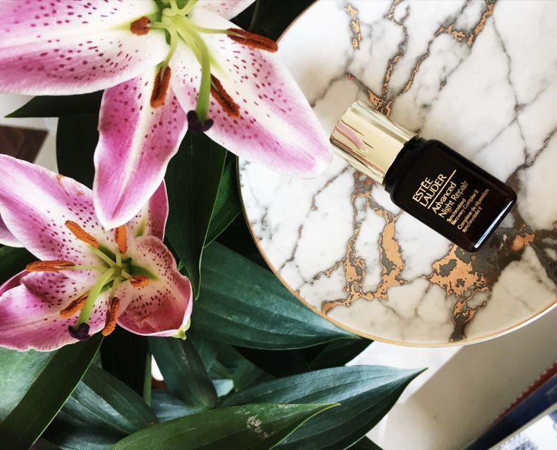 Estee Lauder Advanced Night repair serum topknotch blog review