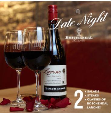 Date night at HQ