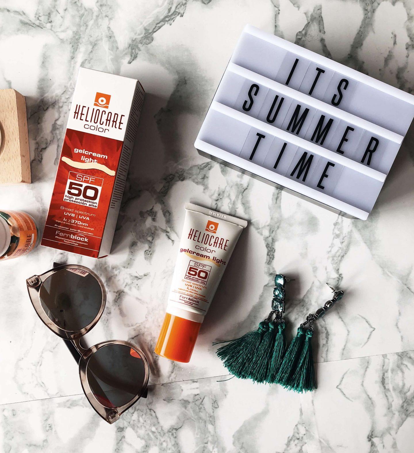 Heliocare sunscreen gelcream topknotch blog south africa
